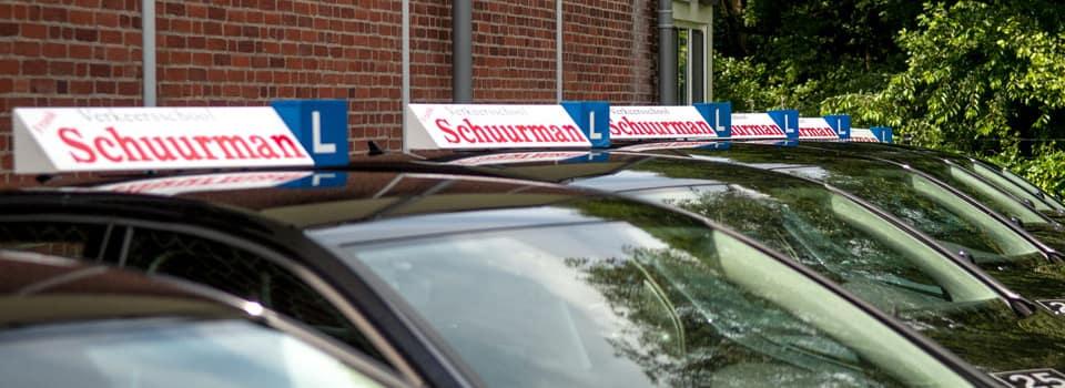 Als vertrouwde rijschool herkenbaar in heel Apeldoorn