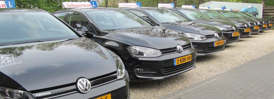 Goed en gedegen rijles? Dan kies je voor één van de Volkswagens van frankschuurman.nl